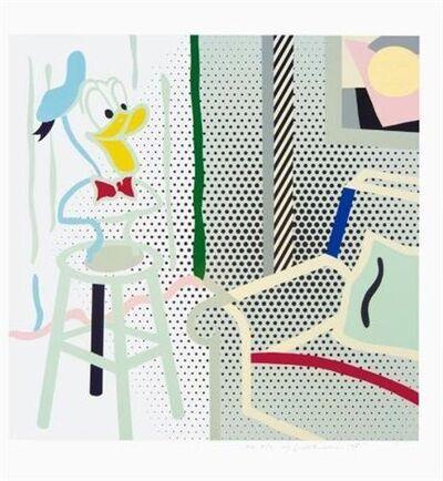 Roy Lichtenstein, 'Virtual Interior - Portrait of a Duck (Corlett 294)', 1995