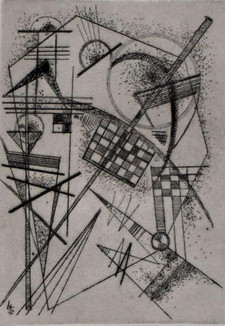 Wassily Kandinsky, 'Etching for the German Art Community   Radierung für die Deutsche Kunstgemeinschaft', 1926