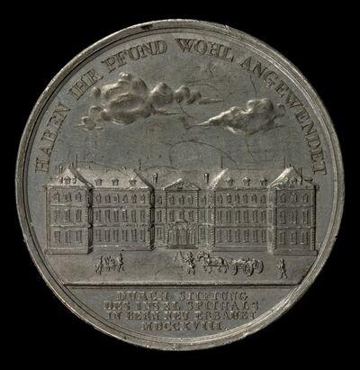 Sebastian Burger, 'Insel Hospital, Bern [reverse]', 1818