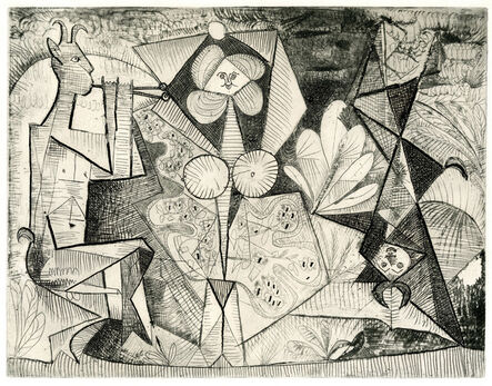 Pablo Picasso, 'The Pipes (Les Pipeaux)', 1946