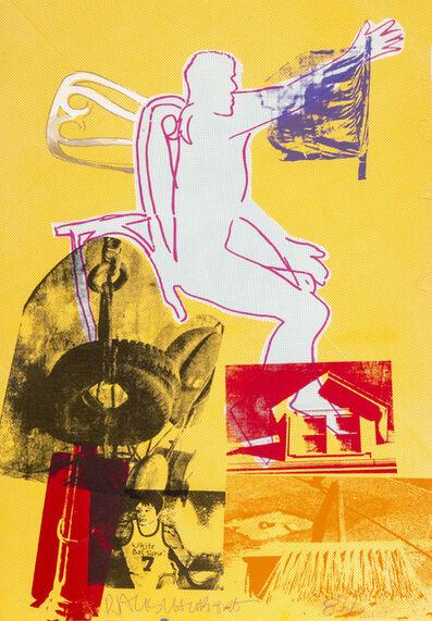 Robert Rauschenberg, 'Portrait of Merce Cunningham', 1984