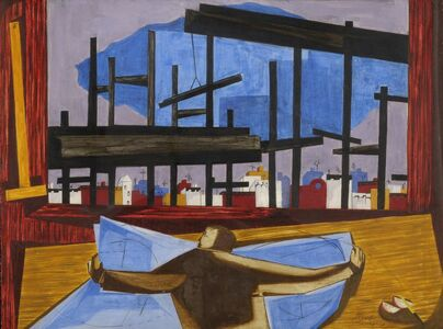 Jacob Lawrence, 'The Architect', 1959