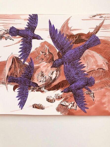 Sara Nesbitt, 'Crows and Bats', 2020