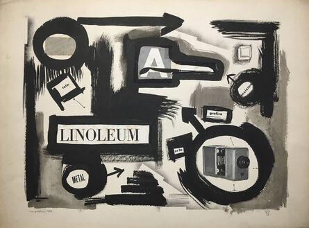 Jorge Lezama, 'La grafica', 1963