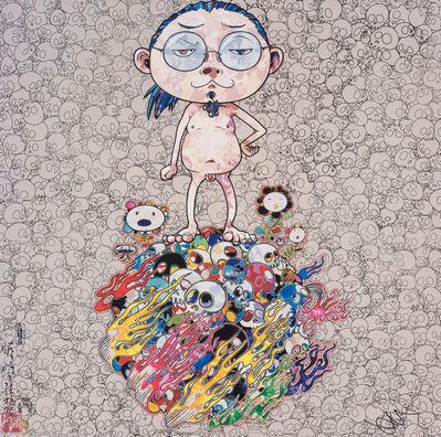 Takashi Murakami, 'Naked Me Contemplates Death (Memento Mori)', 2013
