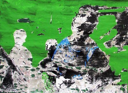 Armand Boua, 'Les vièx môgô (Les grand frère)', 2017