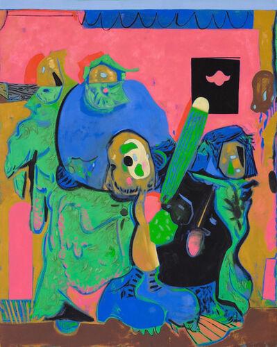 Scott Anderson, 'Zizek Watching Television', 2014