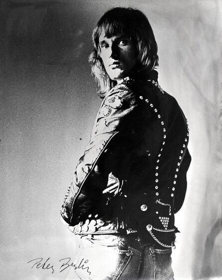 Peter Berlin, 'Self Portrait in Black Leather Jacket', 1970-1979