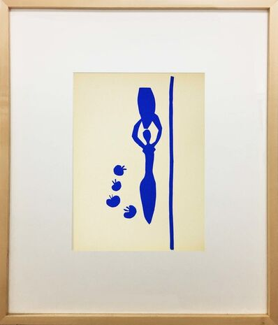 Henri Matisse, 'Femme a l'Amphore et Grenades (Woman with Amphora and Grenades)', 1958