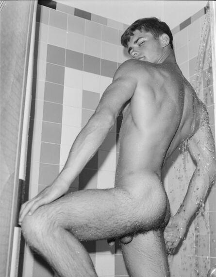 Bob Mizer, 'Brian Idol (in shower), Los Angeles', 1966
