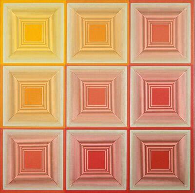 Richard Anuszkiewicz, 'Texas Red', 1969
