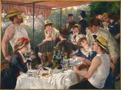 Pierre-Auguste Renoir, 'Luncheon of the Boating Party', 1880-1881