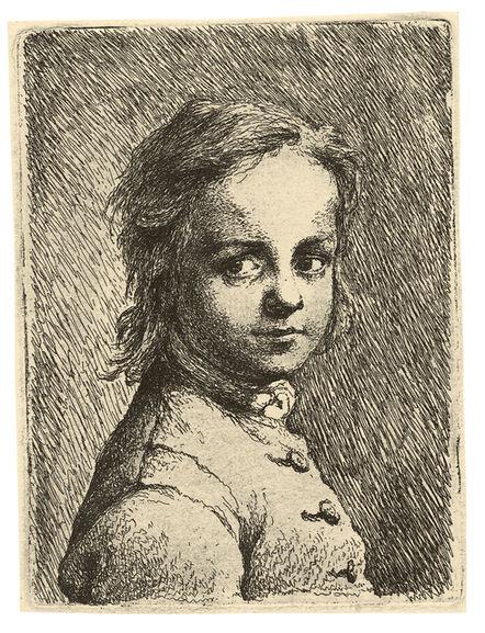 JOHANN HEINRICH RODE, 'Portrait of a Boy', ca. 1750/53