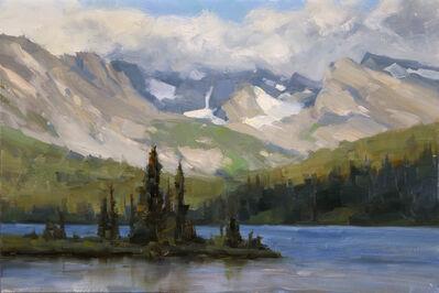Dave Santillanes, 'Long Lake #1, Study', 2015