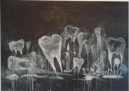 Manuel Ocampo, 'Untitled (Ghost Teeth)', 2008