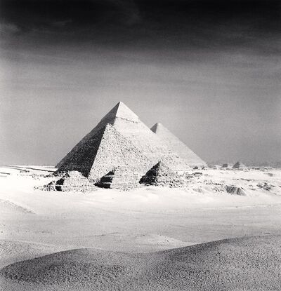 Michael Kenna, 'Giza Pyramids, Study 6, Cairo', 2009