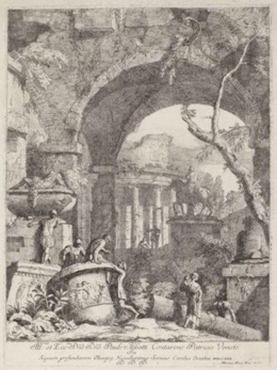 Marco Ricci, 'Capriccio: Ruins'