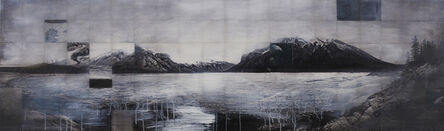 John Folsom, 'Excavate I (Lake Minnewanka)', 2014