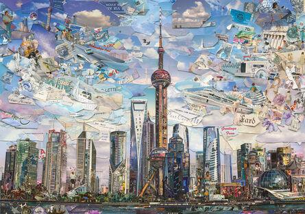 Vik Muniz, 'Postcards from Nowhere: Shanghai', 2014