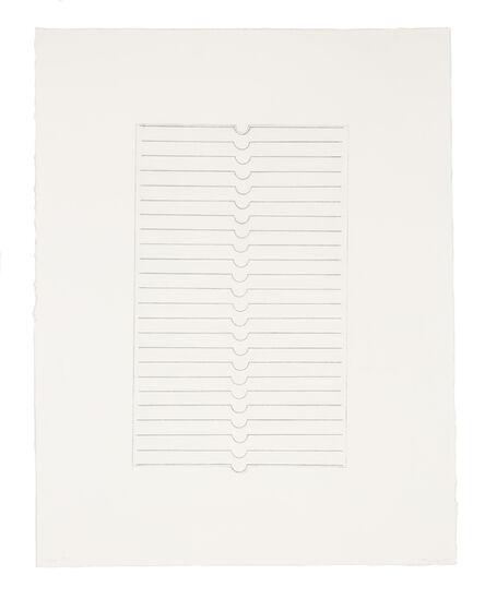 Kim Lim, 'Silver Engraving', 1973