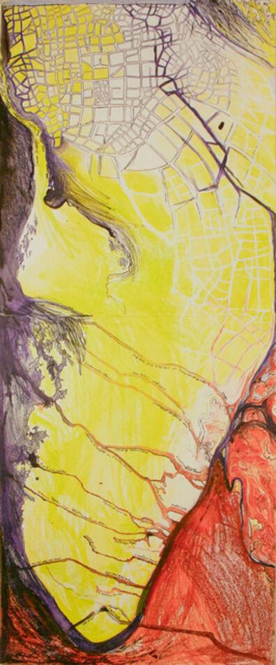 Madeleine Brehm Boucher, 'Map (Island)', 2010-2012