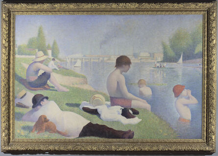 Georges Seurat, 'Bathers at Asnières', 1884