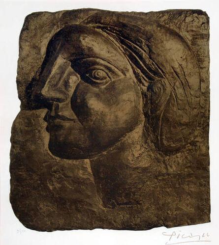 Pablo Picasso, 'Tête de Femme (Marie-Thérèse) [Head of a Woman]', 1958