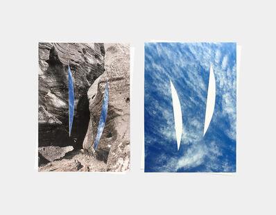 Letha Wilson, 'Glacier Sky (Back to Back)', 2016