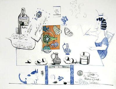 Saul Steinberg, 'Matisse Postcard', 1970