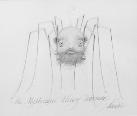 Travis Louie, 'Mysterious Henry Wasman Drawing', 2015
