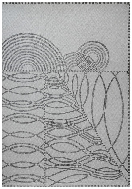 Christopher Squier, 'Strange and unadorned: wave interference study no. 15', 2020