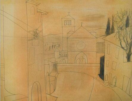 Ben Nicholson, 'Assisi', 1955