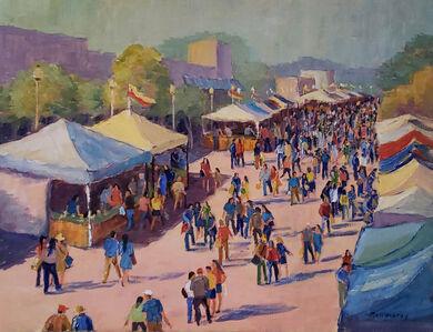 Bill Schmidt, 'Sarasota Farmers Market', 2020