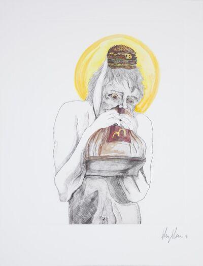 Henry Hudson, 'Man devouring Big Mac (6)', 2014