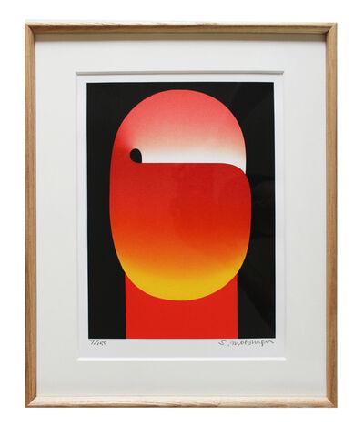 Sadamasa Motonaga, 'Untitled (Yellow and Red Light Black)', ca. 1986