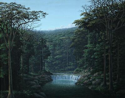 Tomás Sánchez, 'Meditacion y Sonidos de las Aguas', 1993