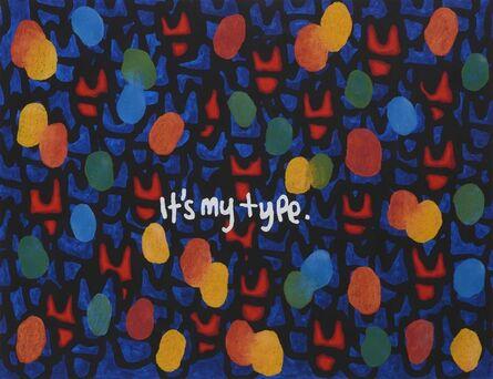 JIHI, 'It's My Type', 2020