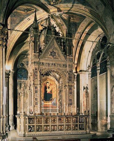 Orcagna (Andrea di Cione), 'Tabernacle, Orsanmichele, Florence', ca. 1355-59