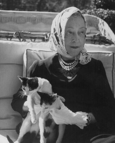 Louise Dahl-Wolfe, 'Elsie De Wolfe (Lady Mendl), Paris', 1946