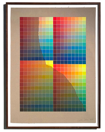 Analía Saban, 'Transcending Pigment from Paint to Canvas, from Canvas to Paint (Color) #2 No. I', 2020