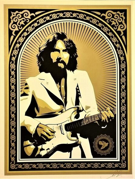 """Shepard Fairey, 'George Harrison """"Friendship and Support""""', 2011"""