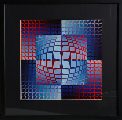 Victor Vasarely, 'Untitled 2 from Progressions', 1973