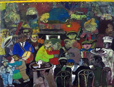 "Sarkis Hamalbashian, '""Outdoor Café"" /""Gazino""', 2014"