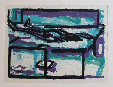Frank Auerbach, 'Reclining Figure 1', 1966
