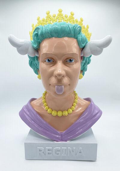 D*Face, 'Queen Bust Pastel 2', 2021