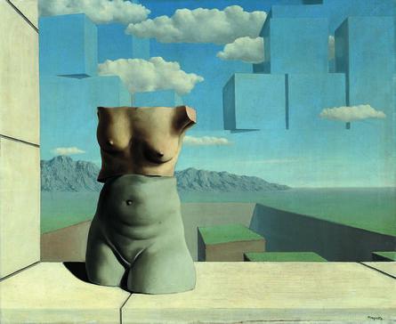 René Magritte, 'Les Marches de l'été', 1938