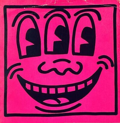 Keith Haring, 'Keith Haring Three Eyed Face 1982 (book cover)', 1982