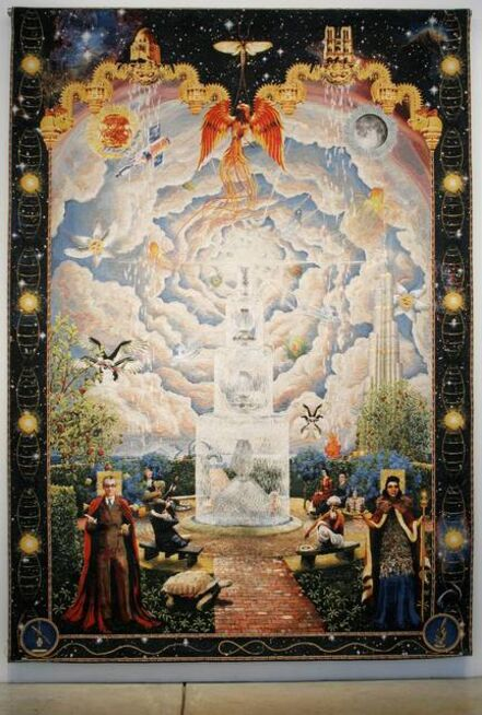 Andy Diaz Hope & Laurel Roth, 'Allegory of the Infinite Mortal', 2010