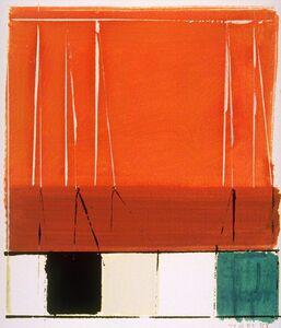 Richard Roblin, 'Wallseries Study #6', 1989
