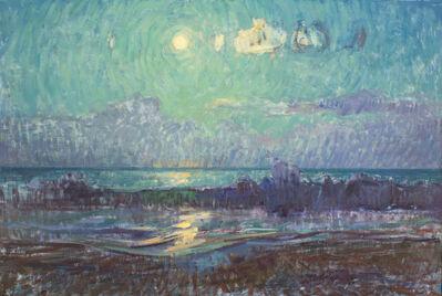 Ben Fenske, 'Moon Over Ocean Waves', 2013